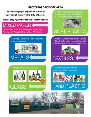 Heman Park Recycling Drop Off Area