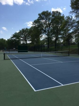 Kaufman Park Tennis Courts June 2017