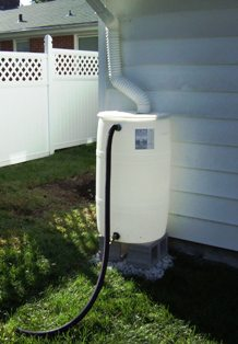 Rain Barrel 1100 W Parkedge