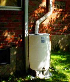 rain barrel at 7834 Cornell