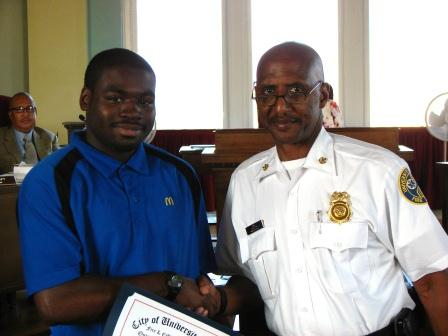 Chief Long and Ladarius Tisdale